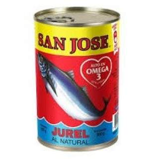 Jurel al natural San Jose tarro 425g