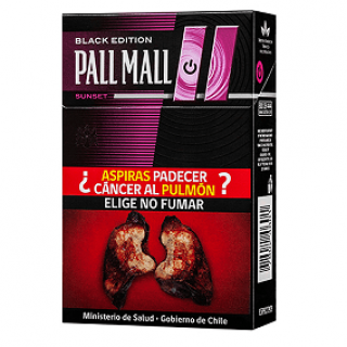 Cigarrillos Pall Mall Sunset Caja Dura 20 Click